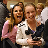 Hallie Saliman, 13, left, and Maddy Pawlak, 13, both from Boulder wait in  line for the Hollister store to open during the Midnight Madness Black Friday event at FlatIron Crossing on Friday. <br /> November 24, 2012<br /> staff photo/ David R. Jennings