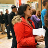 Rupinder Rai waits in line for the Holister  to open at midnight during the Midnight Madness Black Friday event at FlatIron Crossing on Friday. <br /> November 24, 2012<br /> staff photo/ David R. Jennings