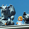 Gargoyles are on the edge of the roof as a part of the Halloween decorations at 13941 Tincup Circle.<br /> <br /> October 22, 2009<br /> Staff photo/David R. Jennings