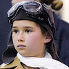 Chloe Mechin dressed as aviator Amelia Earhart during the Meridian Elementary School third grade Night of the Notables on Wednesday.<br /> <br /> May 5, 2010<br /> Staff photo/ David R. Jennings
