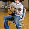 Andrew Neuhalen, age 14, auditions for the seventh annual Night of the Stars Talent Competition on Saturday at the Broomfield Community Center. <br /> <br /> <br /> photo/Matt Kelley