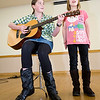 Sophie Kelly, left, age 11 and Sofie Full, age 8 perform during their audition for the seventh annual Night of the Stars Talent Competition on Saturday at the Broomfield Community Center.<br /> <br /> <br /> photo/Matt Kelley