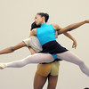 Marian Faustino and Damien Patterson perform the Arabia Dance during rehearsal for Ballet Nouveau Colorado's Nutcracker at the studio on Saturday.<br /> <br /> November 26, 2011<br /> staff photo/ David R. Jennings