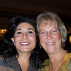Fereshteh Eftekhar, left, and Marie Rowe, chairperson of Odyssey 2009.<br /> <br /> October 30, 2009<br /> photo/Gerry Case