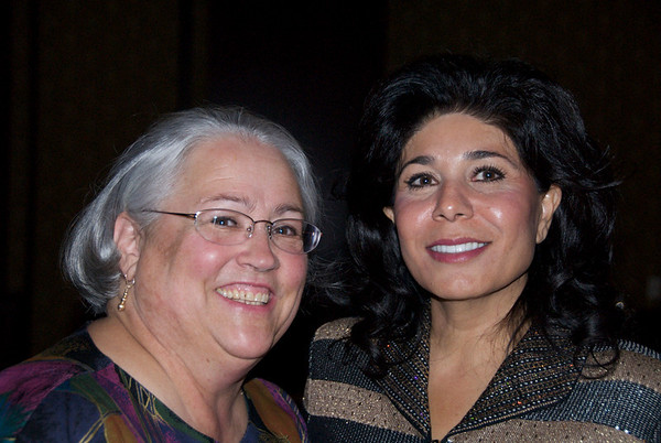 Kathy Case, left,  and Fereshteh Eftekhar<br /> <br /> October 30, 2009<br /> photo/Gerry Case