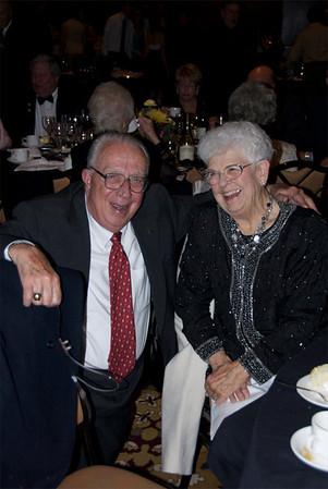 148<br /> Bob Davenport, left, and Betty Calvin<br /> <br /> October 30, 2009<br /> photo/Gerry Case