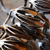 METALWORKER07<br /> A piece of David Norrie's work awaits completion at his studio in Berthoud.<br /> <br /> Photo by Marty Caivano/Camera/Dec. 30, 2009