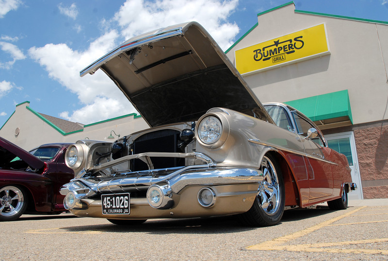 A 1956 car on display at the One Soldier's Dream car show fundraiser for at Bumpers restaurant on Saturday.June 18, 2011<br /> staff photo/David R. Jennings