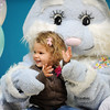 The Easter Bunny plays with Parker Graves, 2, during the Preschool Easter Party at the Broomfield Community Center on Thursday.<br /> April 5, 2012 <br /> staff photo/ David R. Jennings