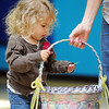 Parker Graves, 2, picks out a prize after visiting the Easter Bunny during the Preschool Easter Party at the Broomfield Community Center on Thursday.<br /> April 5, 2012 <br /> staff photo/ David R. Jennings