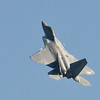 U.S. Air Force F-22 Raptor performs maneuvers during Saturday's Rocky Mountain Airshow 2012 at Rocky Mountain Metropolitan Airport. <br /> August 26, 2012<br /> staff photo/ David R. Jennings