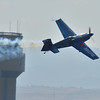 Pilot Melissa Pemberton performs her aerobatic routine during Saturday's Rocky Mountain Airshow 2012 at Rocky Mountain Metropolitan Airport. <br /> <br /> August 26, 2012<br /> staff photo/ David R. Jennings