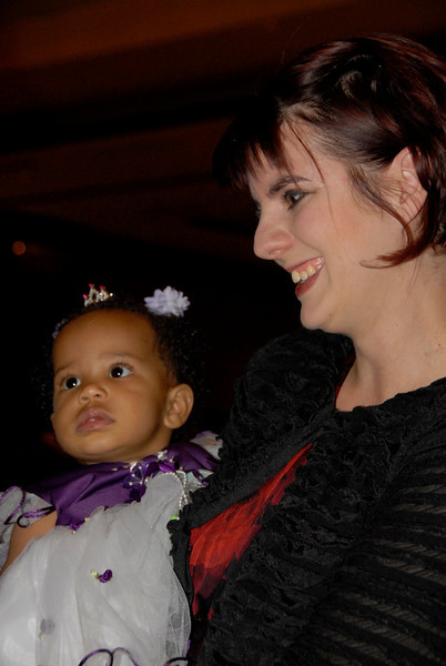Nanette Bezjak with her baby, Ani, were all smiles when discussing A Precious Child at Odyssey 2010.