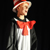 Kevin Ness, Cat in the Hat,  performs during the Thursday performance of Seussical by the Coyote Ridge Elementary School drama club.<br /> April 15, 2010<br /> Staff photo/David R. Jennings