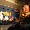 Second grader Ty Mercer looks at the spot light during the Thursday performance of Seussical by the Coyote Ridge Elementary School drama club.<br /> <br /> April 15, 2010<br /> Staff photo/David R. Jennings