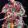 Derek Howell, a Pawnee with the Seven Falls Indian Dancers, performs a Pueblo hoop dance during  the Children's Library's Wonderful Wednesdays at the Audi the Mamie Doud Eisenhower Public Library.<br /> June 8, 2011<br /> staff photo/David R. Jennings
