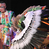 Robert Howell, with the Seven Falls Indian Dancers, performs an eagle dance during  the Children's Library's Wonderful Wednesdays at the Audi the Mamie Doud Eisenhower Public Library.<br /> June 8, 2011<br /> staff photo/David R. Jennings