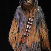 A Wookie portrayed by a member of the Rebel Legion walks on to the stage at the Star Wars fundraiser for the Broomfield Public Library Foundation on Sunday at the Audi. <br /> <br /> August 7, 2011<br /> staff photo/ David R. Jennings