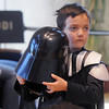 Riley Suissa, 8, wore his Darth Varder costume to the Star Wars fundraiser for the Broomfield Public Library Foundation on Sunday at the Audi. <br /> <br /> August 7, 2011<br /> staff photo/ David R. Jennings