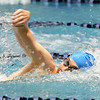Broomfields Martin Wallace swims in the 200 yard freestyle finals during the state 4A  Boys Swim and Dive Championships at Veterans Memoirial Pool in Thornton on Saturday.<br /> <br /> May 19, 2012 <br /> staff photo/ David R. Jennings