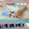 Broomfield's Katalena Laufasa-Duncan swims the freestye in the 200 yard IM at the 4A state swimming championships on Saturday at the Veterans Memorial Aquatics Center in Thornton.<br /> February 11, 2012<br /> staff photo/ David R. Jennings
