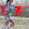 Legacy's Ivie Gonsalves runs the course during the 5A girls race at the state cross country meet at Fossil Ridge High School in Ft. Collins on Saturday.<br /> <br /> November 7, 2009<br /> Staff photo/David R. Jennings