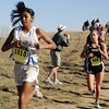 Legacy's Jessie Parra runs the course during the 5A girls race at the state cross country meet at Fossil Ridge High School in Ft. Collins on Saturday.<br /> <br /> November 7, 2009<br /> Staff photo/David R. Jennings