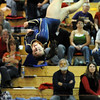 Legacy's Maddie Riva  performs her floor routine during the state 5A gymnatics meet at Thornton High School on Friday.<br /> <br /> November 6, 2009<br /> Staff photo/David R. Jennings