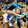 Becky Saad, Broomfield,  performs her floor routine during the state 5A gymnatics meet at Thornton High School on Friday.<br /> <br /> November 6, 2009<br /> Staff photo/David R. Jennings