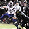 Broomfield's Dan Perse almost catches a pass against Monarch during the quarterfinals 4A game at Centaurus High on Friday.<br /> November 18, 2011<br /> staff photo/ David R. Jennings