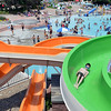 "People  go down the water slides and splash in the pools while enjoying the fun at The Bay Aquatic Center on Saturday.<br /> <br /> June 30, 2012<br /> staff photo/ David R. Jennings<br /> <br /> for more photos please go to  <a href=""http://www.broomfieldenterprise.com"">http://www.broomfieldenterprise.com</a>"