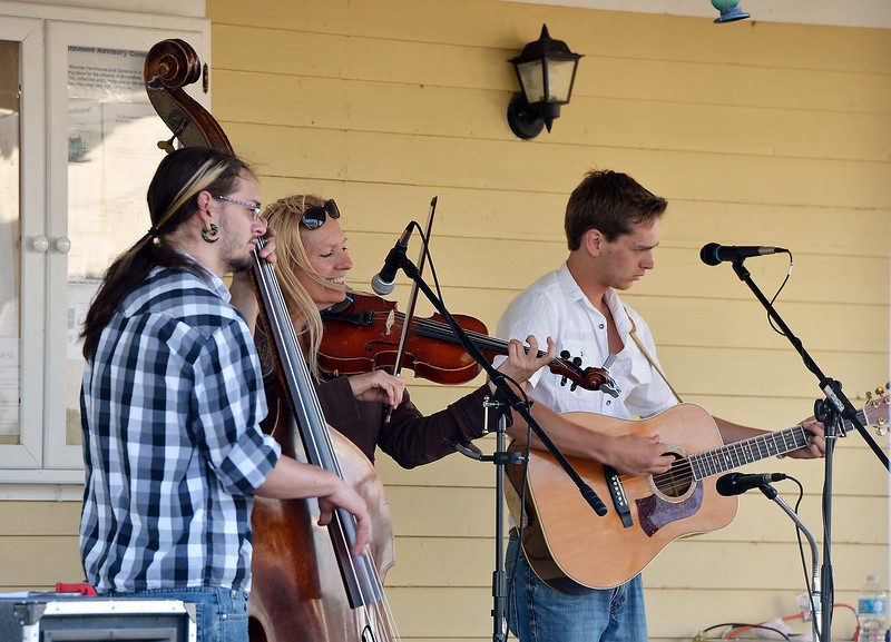 The Carbone Family Band plays for Summer Sundays at the Historic Brunner Farmhouse on Sunday<br /> June 9, 2012 <br /> staff photo/ David R. Jennings