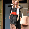 Jared Wold, 16, playing Ken De La Maize, threatens Alexa Brown's character, Nikki Crandall, during rehearsal for the Summer Youth Players production of The Musical Comedy Murders of 1940 at Legacy High School.<br /> June 14, 2012 <br /> staff photo/ David R. Jennings