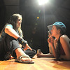 during the Summer Youth Players tech rehearsal of The Wizard of Oz at Broomfield High School on Saturday.<br /> June 18, 2011<br /> staff photo/David R. Jennings
