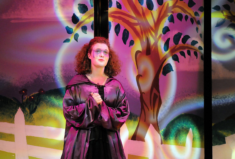 Tristine Henderson portrays Isadora during Saturday's Summer Youth Players performance of The Princess and the Pea at the Audi.<br /> July 17, 2010<br /> Staff photo/ David R. Jennings