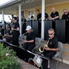 Big band sounds of the Metropolitan Jazz Orchestra entertain the audience during the Summer Sundays at the Brunner Farmhouse sponsored by the Broomfield Council on the Arts and Humanities on Sunday.<br /> <br /> August 7, 2011<br /> staff photo/ David R. Jennings