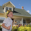 Riley Corcoran, 5, wore a crown from the Back Story Theater booth at the Summer Sundays at the Brunner Farmhouse sponsored by the Broomfield Council on the Arts and Humanities on Sunday.<br /> <br /> August 7, 2011<br /> staff photo/ David R. Jennings