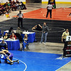 High school wrestlers from 10 schools compete during Saturday's The Beast Wrestling Tournament at the Odeum Colorado.<br /> January 30, 2010<br /> Staff photo/David R. Jennings