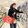 Jenninfer Dunn shops on the last day of the Broomfield Target store, Saturday.<br /> January 26, 2012<br /> staff photo/ David R. Jennings