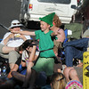 "James Knudtsen, 8,playing Peter Pan, ""flies"" through the audience during Sunday's performance of Peter Pan by the Lemonade Players.<br /> <br /> <br /> June 26, 2011<br /> staff photo/ David R. Jennings"