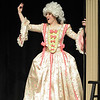 Moorea Corrigan plays Carlotta the opera's prima donna sings during dress rehearsal of Legacy High School's presentation of The Phantom of the Opera  on Thursday.<br /> February 9, 2012<br /> staff photo/ David R. Jennings