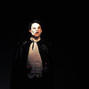 Schyler Vargus as the Phantom performs a song during dress rehearsal of Legacy High School's presentation of The Phantom of the Opera  on Thursday.<br /> February 9, 2012<br /> staff photo/ David R. Jennings