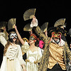 The song Masquerade is performed by the cast during dress rehearsal of Legacy High School's presentation of The Phantom of the Opera  on Thursday.<br /> February 9, 2012<br /> staff photo/ David R. Jennings