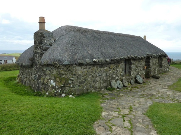 The Museum of Island Life on the Isle of Skye showcases local historic homes and tools.<br /> <br /> photo/Gerry Case