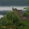 Urquhart Castle on Loch Ness is a noble ruin in a majestic setting. It has a 500-year history and is strategically sited.<br /> <br /> photo/Gerry Case