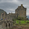 Eilean Donan Castle – the most photographed castle in Scotland --from 1912 to 1932 was rebuilt from original foundations.<br /> <br /> photo/Gerry Case