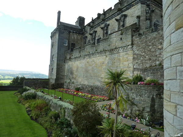 "Stirling Castle – site of may coronations, sieges and battles. The events in the movie ""Braveheart"" occurred nearby.<br /> <br /> photo/Gerry Case"