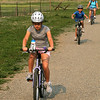 Cyclists head out on their ride during the National Trails Day event at the Broomfield Commons on Saturday. Photo by Matt Kelley.