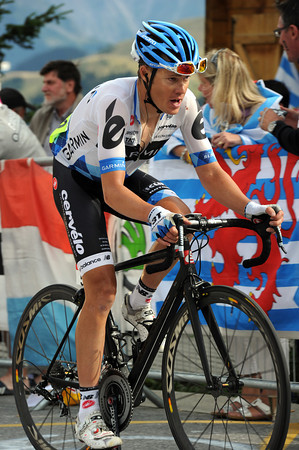 TOM DANIELSON ON STAGE NINETEEN OF THE 2011 TOUR DE FRANCE