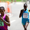 "Ethiopia's Mamitu Daska (left) edges out Kenya's Emily Chebet during the annual Bolder Boulder 10K Road Race in Boulder, Colorado, Monday, May 31, 2010. <br /> <br /> Kasia Broussalian<br /> <br /> For a video, please visit  <a href=""http://www.dailycamera.com"">http://www.dailycamera.com</a>"